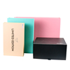 Decorative gift boxes with magnetic lid cardboard boxes foldable magnetic flap box