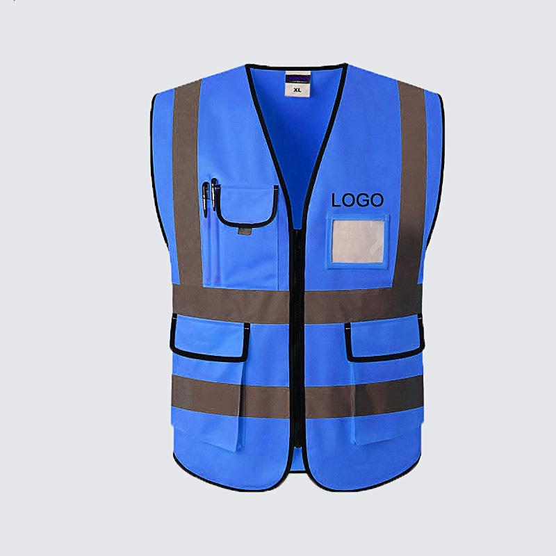 Bán buôn an ninh an toàn vest ba mét phản quang dây đai an toàn vest