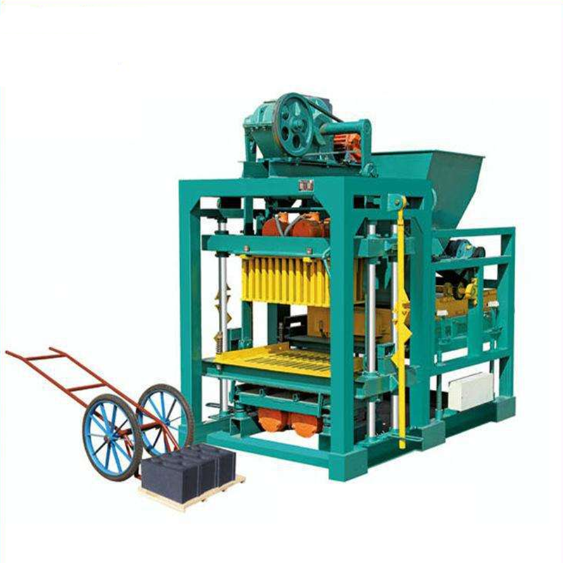 stabilized press cement block/ soil solid clay brick making machine