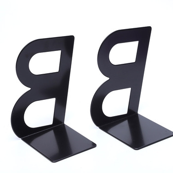Custom Kid Color Metal Letter A To Z Book Stand Book End