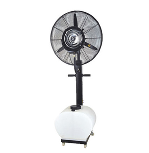 Industrial electric portable water misting fans