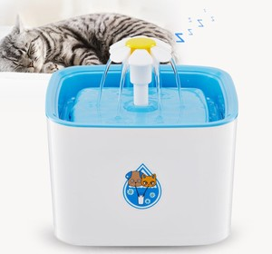 Summer Cat Water Feeder Pet Water Dispenser For Dog Cat Animals Pet Water Fountain with Carbon Filter
