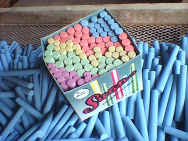 Industrial chalk maker / chalk equipment / white colorful chalk making machine