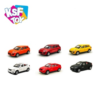 1:43 pull back diecast mini metal model car toy for kids
