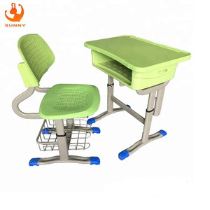 New PP used school furniture student plastic tables and chairs china manufacturer
