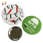 Party Supplies Trump Mothers Day Gifts Crafts Metal With Long Needle Lapel Pin Pvc Suit Nickel Free Name Badge
