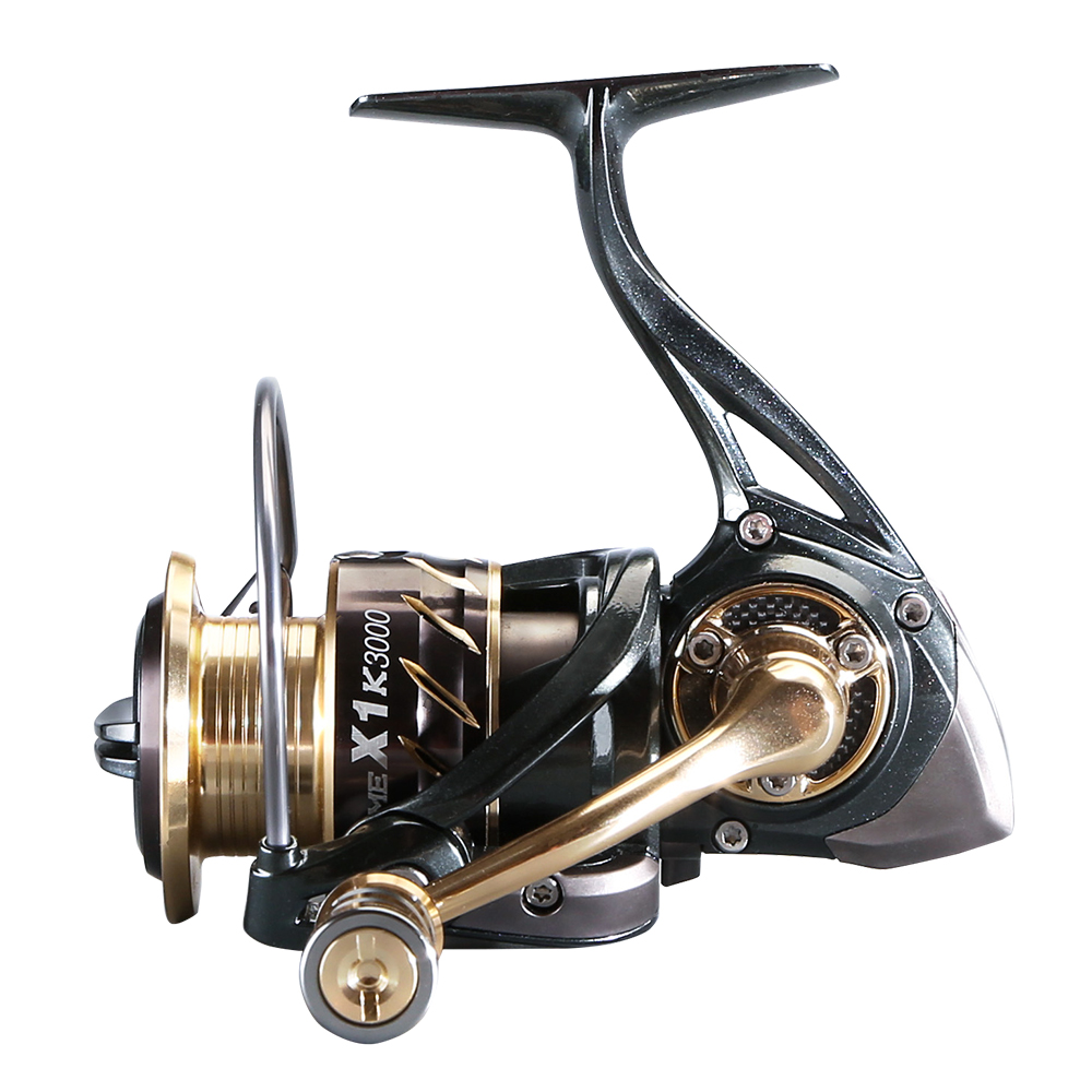CEMREO 11 + 1BB 5.2: 1 spinning reel 14 กก.Heavy Duty CNC machined Fishing Reel Spinning