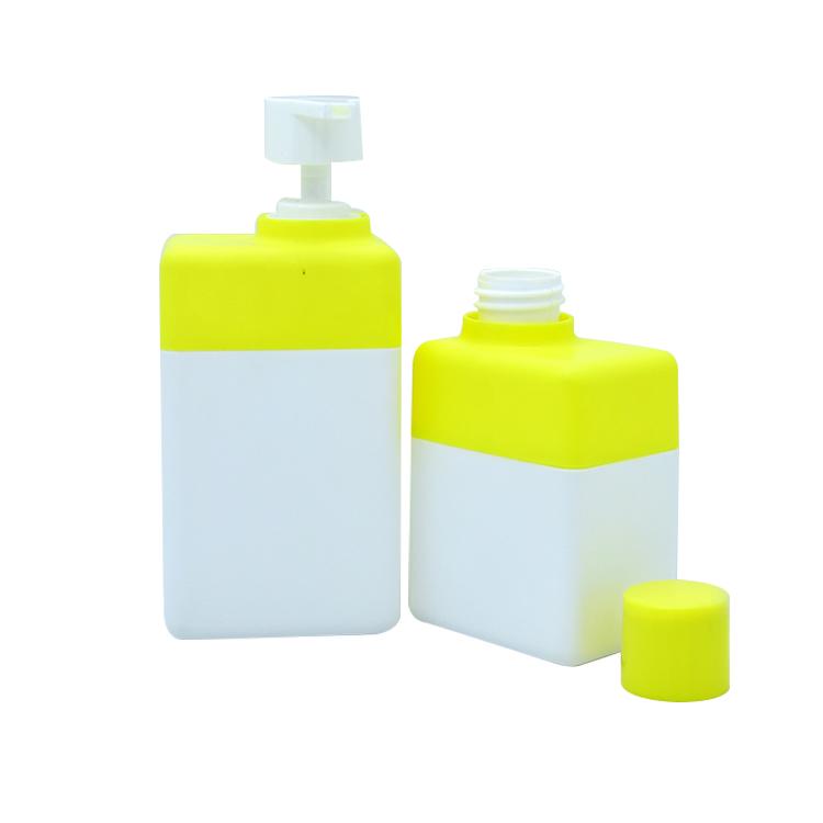 Recipiente loção para o corpo 200 ml 280 ml frasco de xampu líquido de lavar louça de plástico garrafa de embalagens de cosméticos