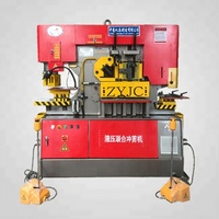 new Hydraulic universal iron worker ,punch and die press machine tool equipment