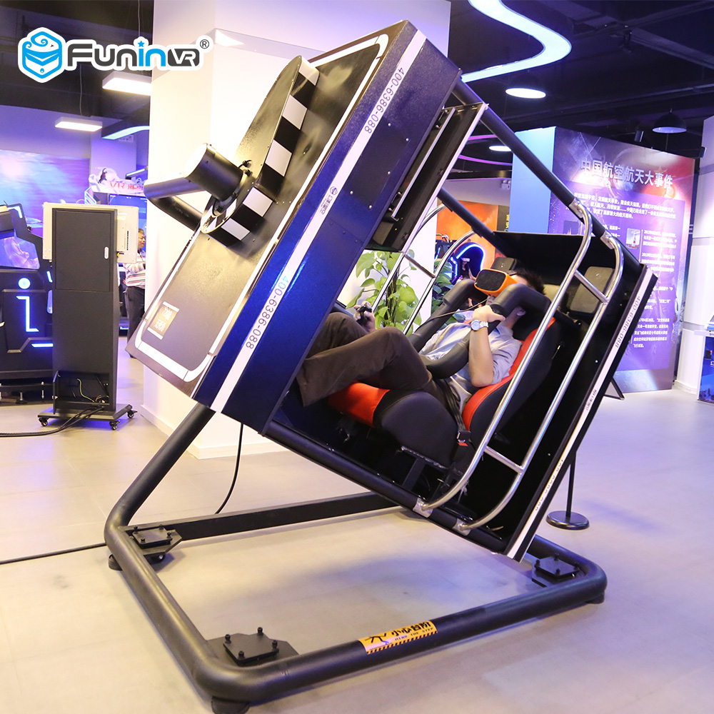 Funin vr winkelcentrum 9d vr game machine flight simulator cockpits voor verkoop