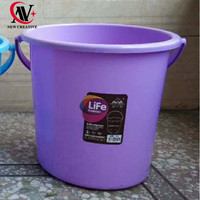 high quality multifunction recycled plastic bucket with handle