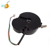 Auto retracting cable reel small retractable reel cable with locking position system