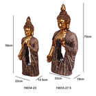 Art Craft Decoration Home Large Buddha Statue Resin Figurines To Paint