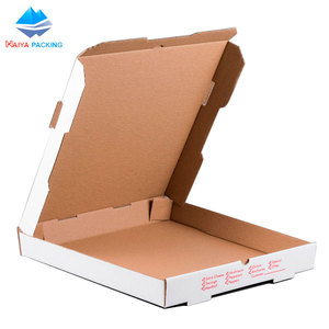 Custom Printed Design Corrugated Paper Pizza Slice Carton Pizza Packing Box