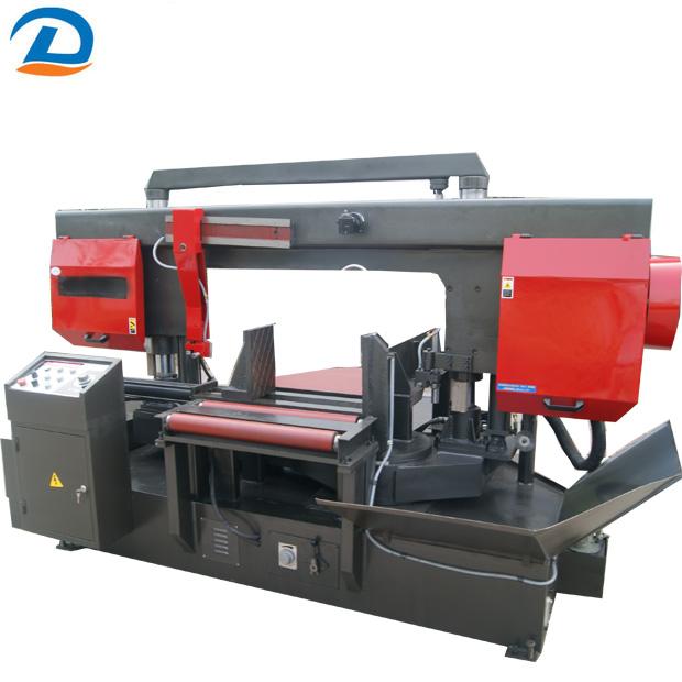 China Automatic Double Column Horizontal Bandsaw Iron Steel Metal Bandsaw Machine