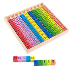 Wooden Educational Multiplication TableToy for Kids
