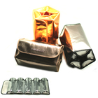 Waterproof Lady Travel transparent pvc toilet cosmetic bag clear make up pouch
