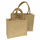 Good Workmanship Travel Washable Convenient Commonly Used Hot Imprinted Reusable Women Organic Tote Jute Shopping Bag