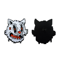 Custom Black Metal with Soft Enamel Pin of Cartoon Animal Wholesale Enamel pin