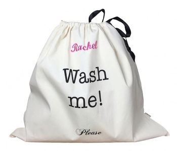 Dirty cloth transport cotton laundry bag