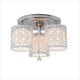 china products modern 5 light silver modern chandeliers ceiling light with CE