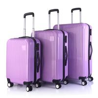New Design Hit Color Crack Design Custom OEM Casual Travel Trolley Suitcase Luggage set