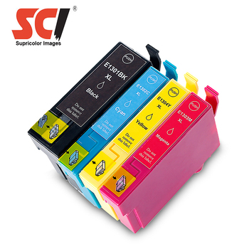 Supricolor Compatible ink cartridge T1301-T1304 for Epson Stylus Office B42WD/ BX525WD/ BX625FWD
