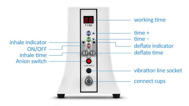 Meme Arttırıcılar Meme Geliştirme Kalça Büyütme Fincan Popo Kaldırma Makinesi