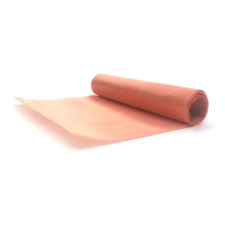 Rfid blocking pure copper wire mesh screen