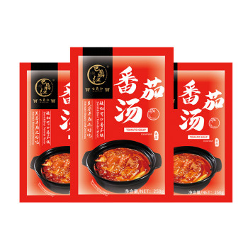 Wholesale sichuan tomato flavor healthy and green hot pot bottom material seasoning