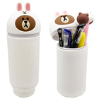 Factory High Quality Personalized Rabbit Bear Marker Pen Holder Custom