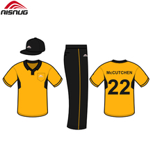 Benutzerdefinierte cricket uniform, cricket team jersey import china produkte