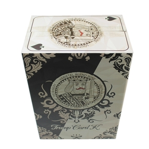 JiaYuan Custom White Corrugated Card Game Box Paper Packaging