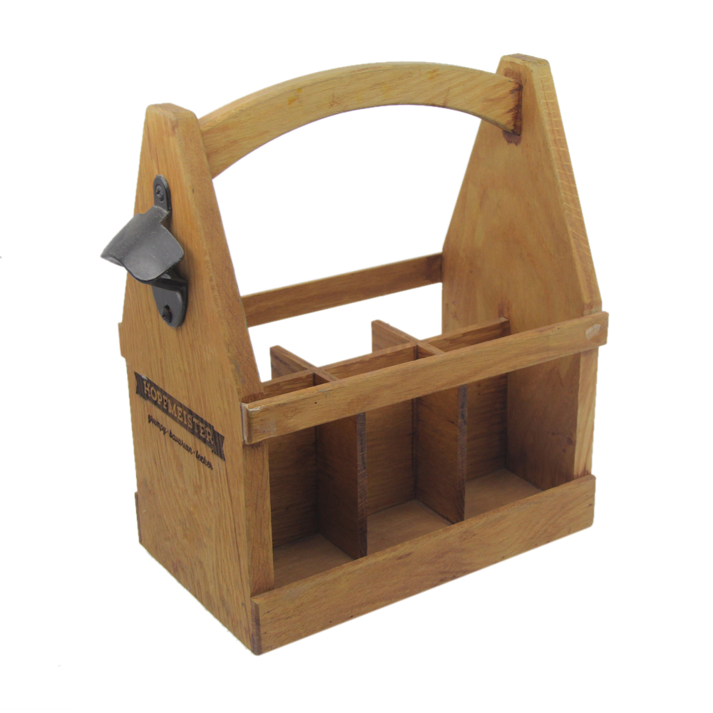 6 Packs rustic solid <strong>wood</strong> beer caddy <strong>wood</strong>