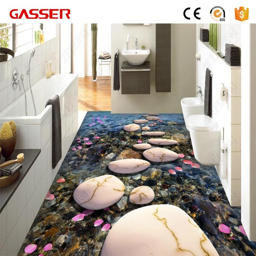 Bathroom Floor Tile Stickers