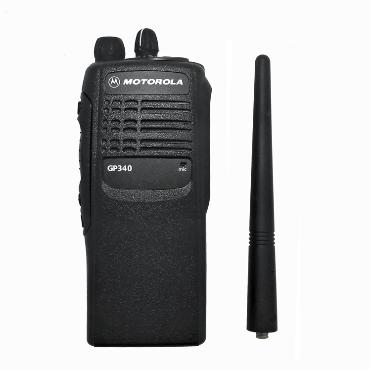 200 Mile Walkie Talkie 50KM Handy Motorola VHF GP340