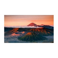 Volcanoes Landscapes Aluminium Picture Painting Wall Art UV Custom Print on Acrylic
