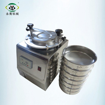 Laboratory sieving machine for moringa leaf powder with 5/35/60/120#