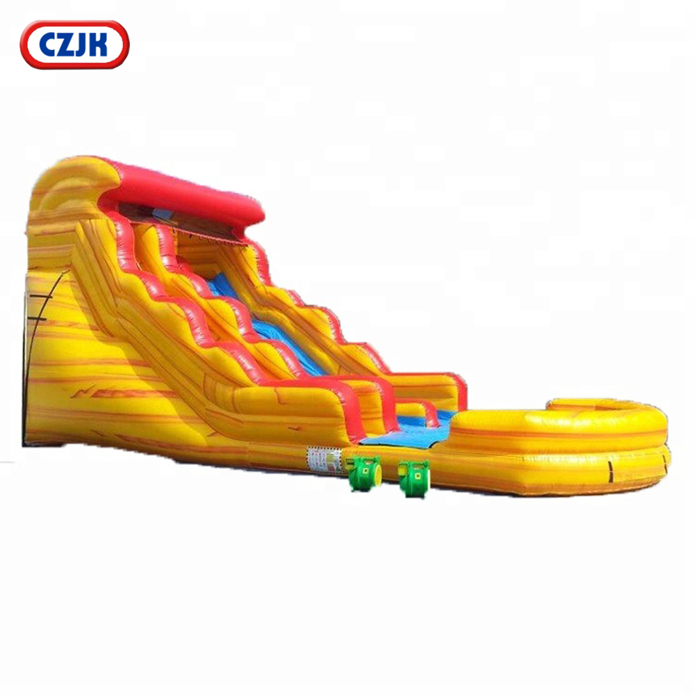 fire n ice inflatable water slide