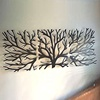 Interior Decor Stainless Steel Art Tree Sculpture on wall decor