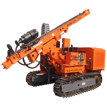 China biggest supplier solar hydraulic soil auger screw piling rig MZ398Y