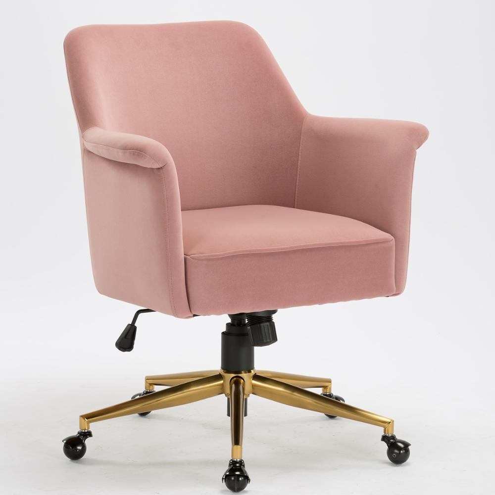 Pink Office Chair Home Office Chair Velvet Office Chair Conference Chair Brass Base Executive Chair Wholesale Fancy Chairs Buy Velvet Swivel Chair Furniture Office Chair Home Office Chair Office Furniture Office Chair Velvet Product On