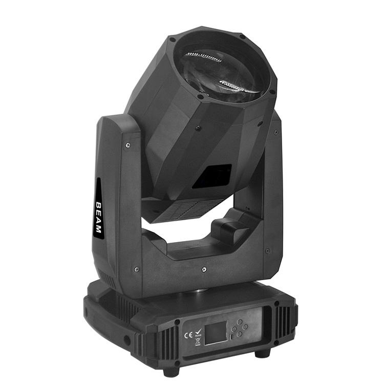 80W Krachtige DJ LED Moving Head Beam Spot Light voor Stage Concert Bruiloft Kerk Theatre