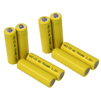 2015 Factory Price NiCD AA 700mAh 1.2V Rechargeable Battery