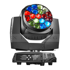 Wedding dj 19*15w big bee eye k10 zoom wash led moving head light