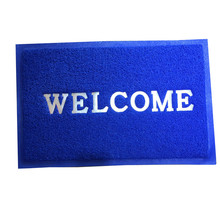 Anti-slip custom printed welcome LOG O는 층 카펫 문 mat 와 PVC 점 참고해주세요