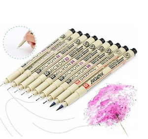 High popularity 3pcs Manga Comic Pro Graphic Markers Drawing Fine Point Ink Pens