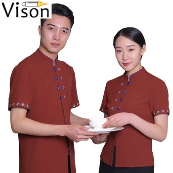 hotel cleaning staff uniform hotel house keeping design  for waitress manager suit  front office uniform