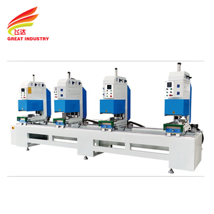 Factory supply upvc making vinyl window welding machine for the seamless welding