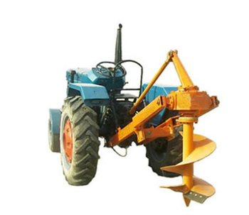 Hillside  tractor pit excavator seedlings paddy planting machine 70 diametr auger earth digger